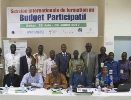 Session internationale de formation au budget participatif Dakar, 2017 – SENEGAL