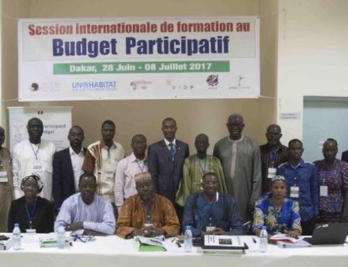 Session internationale de formation au budget participatif Dakar, 2017 – SENEGAL